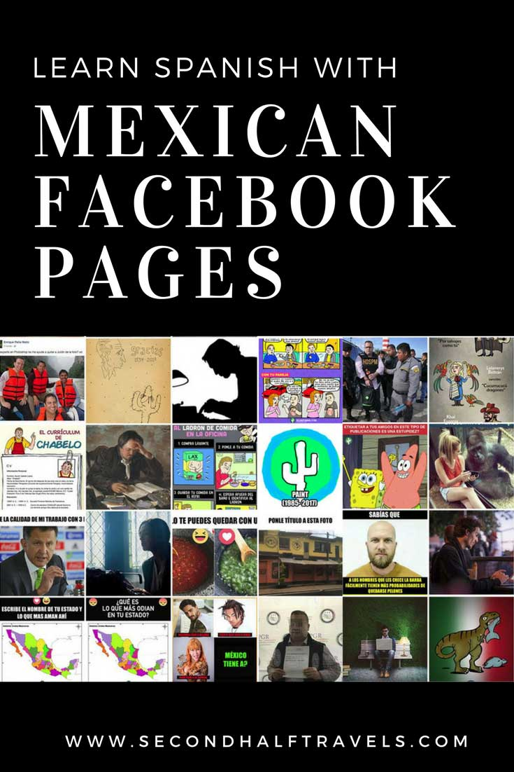 Facebook Pages to Follow to Learn Mexican Spanish